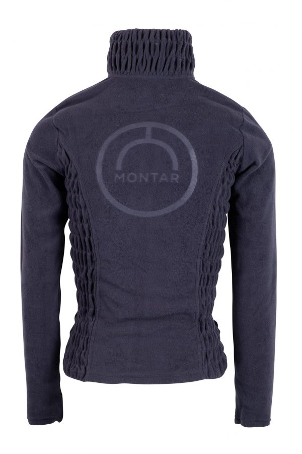 Montar Navy Fleece Back