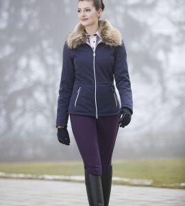 Short Navy Softshell Jacket