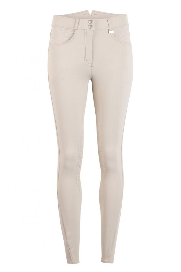 Adalyn beige competition breeches