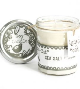 Sea Salt Moss Candle