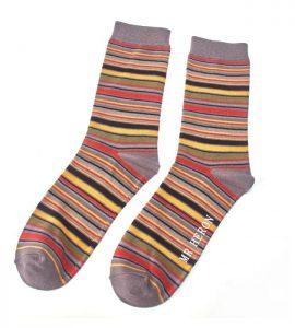 Men's Bamboo stripes socks
