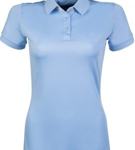 Light Blue polo with sleeves